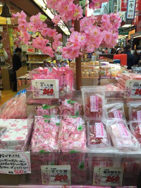 Tokyo Ameyoko sweets