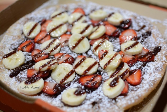 Walter G's Pizza Obsession nutella pizza