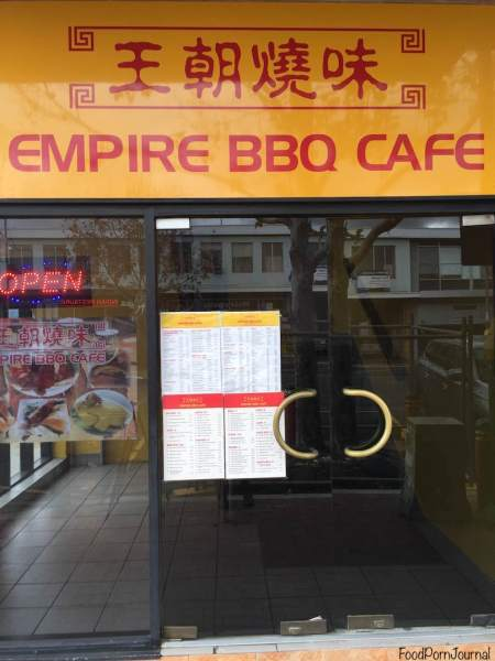 Empire BBQ Cafe Dickson outside