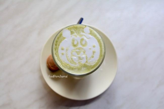 Cafe Garema matcha latte