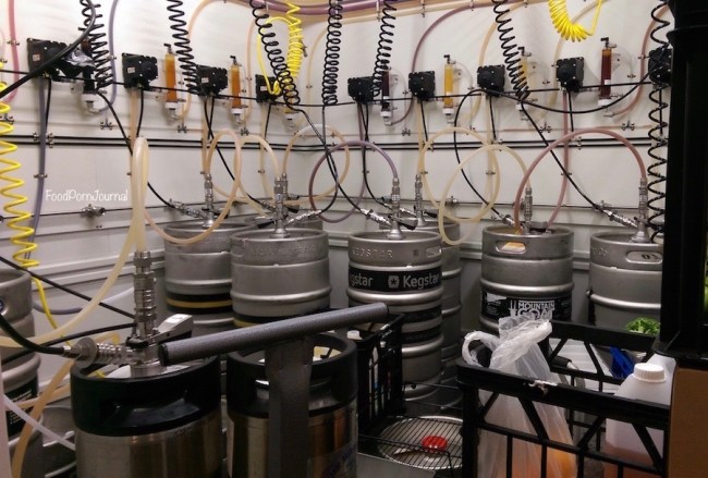 Casey Jones Gastropub keg room (1)