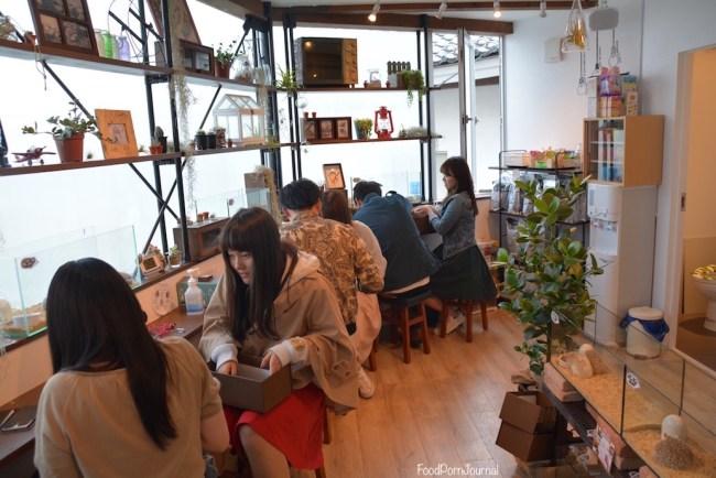 Harry Hedgehog Cafe Tokyo inside
