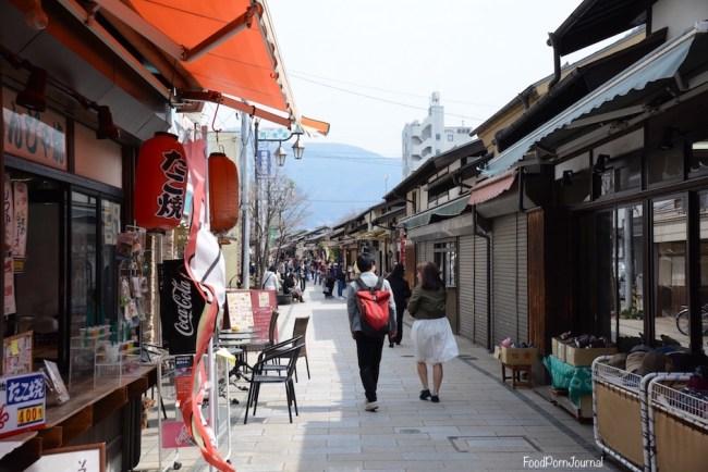 Japan Matsumoto Nawate Shopping Street