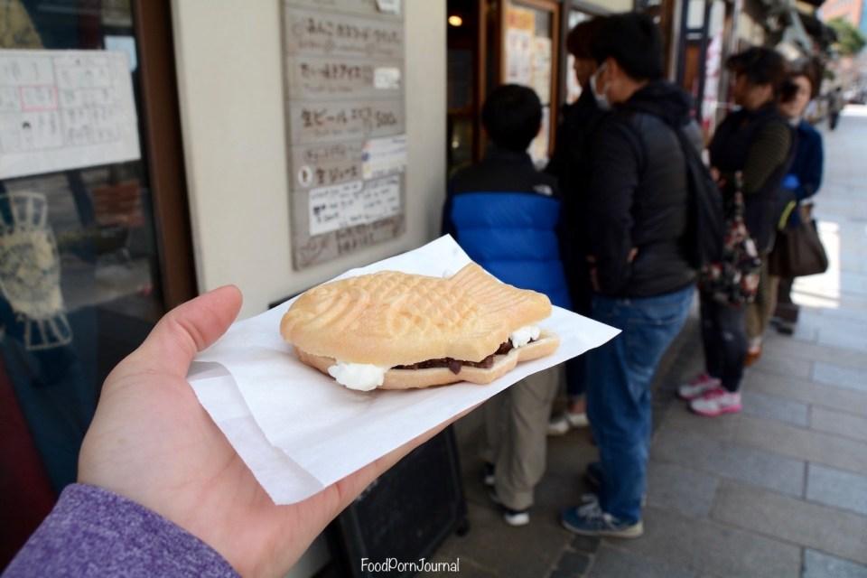 Japan Matsumoto taiyaki icecream