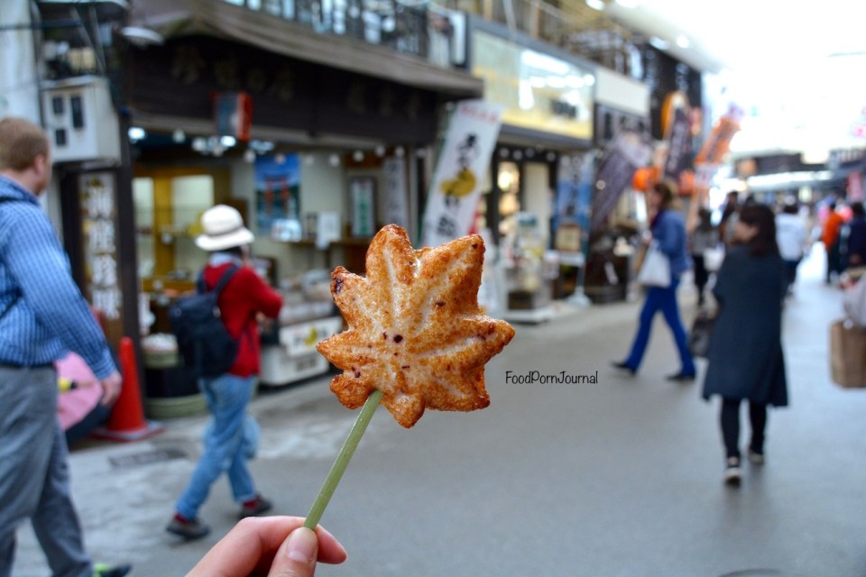Japan Miyajima Island fried fishcake