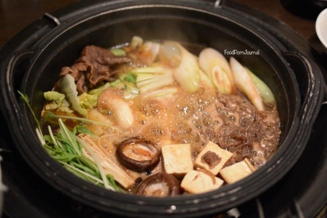 Japan Takayama Maruaki sukiyaki hotpot