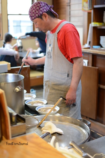 Japan Takayama Musagosoba chef
