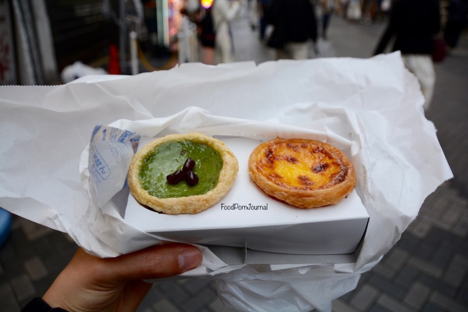 Osaka Japan Dotonburi Lord Stow's Bakery tarts