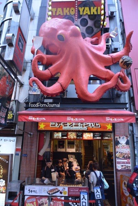 Osaka Japan Dotonburi octopus