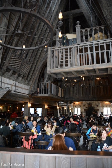 Osaka Japan Universal Studios Harry Potter Three Broomsticks inside