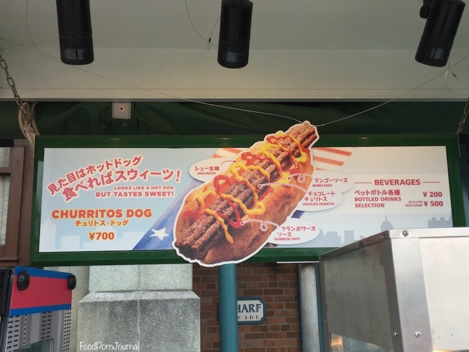 Osaka Japan Universal Studios churritos dog