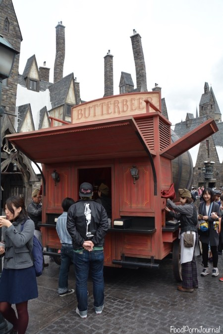 Osaka Japan Universal Stuidos Harry Potter World butterbeer cart