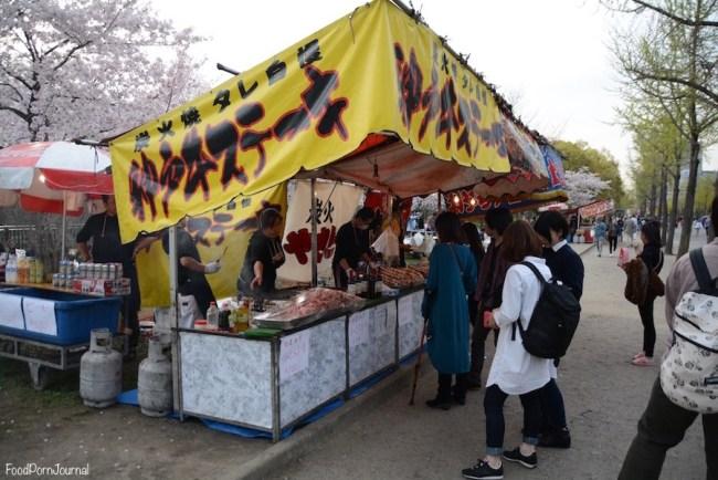 Osaka Japan street food
