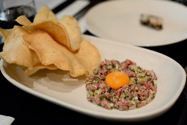 Eightysix Braddon steak tartare