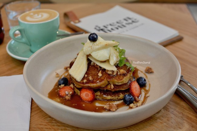 The Green House Canberra pancakes