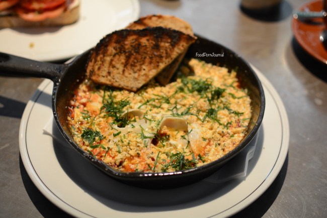 Cumulus Inc Melbourne shakshouka baked eggs breakfast