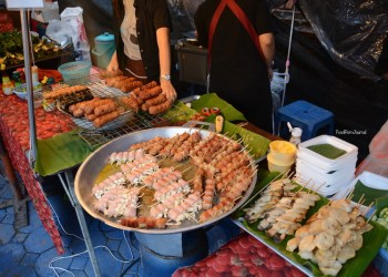 Chiang Mai Saturday Night food market