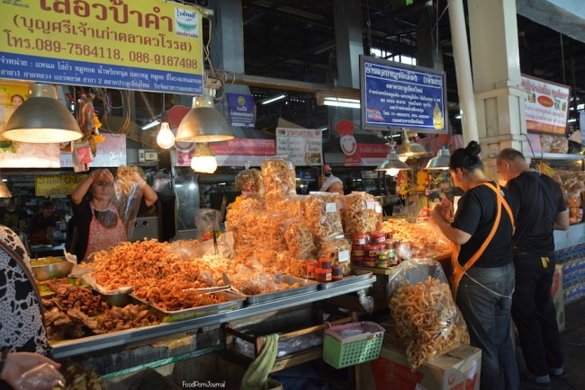Chiang Mai South Gate Markets pork rind