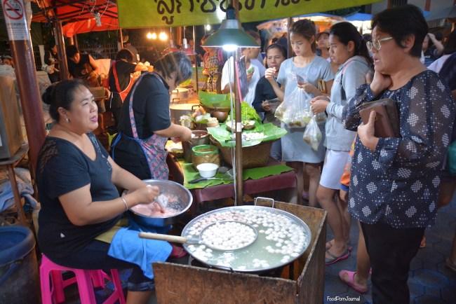 Chiang Mai Sunday Night Market - pork balls