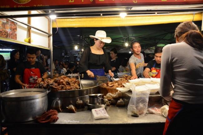 Khao Kha Moo Chang Phueak stall