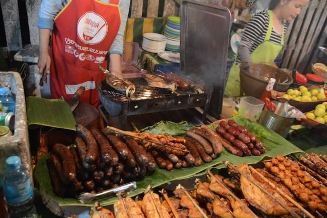 Luang Prabang sausages
