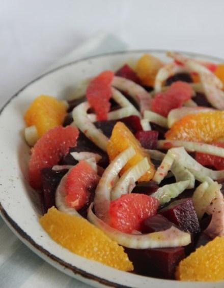 bieten venkel citrus salade