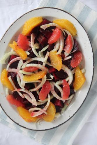 Bietjes-venkel-citrus salade