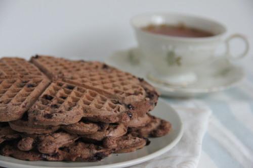 chocolade wafels paleo
