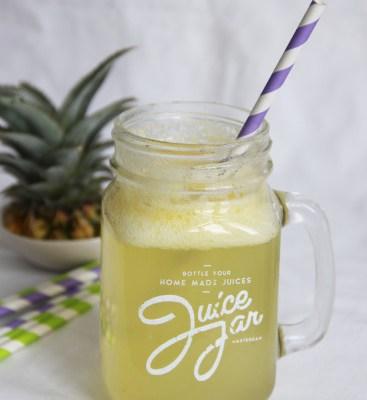 tropisch ananas drankje