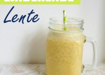 zinderende lente smoothie