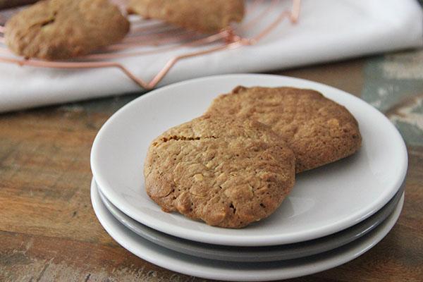 knapperige boekweitkoekjes met amandel -FoodQuotes