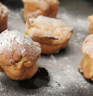 Pannenkoekmuffins peer