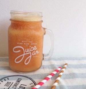 perzik ijsthee smoothie