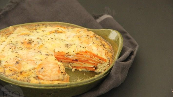 frittata zoete aardappel manchego