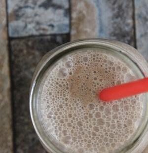 Appeltaart milkshake