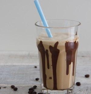 Kaneel ijskoffie