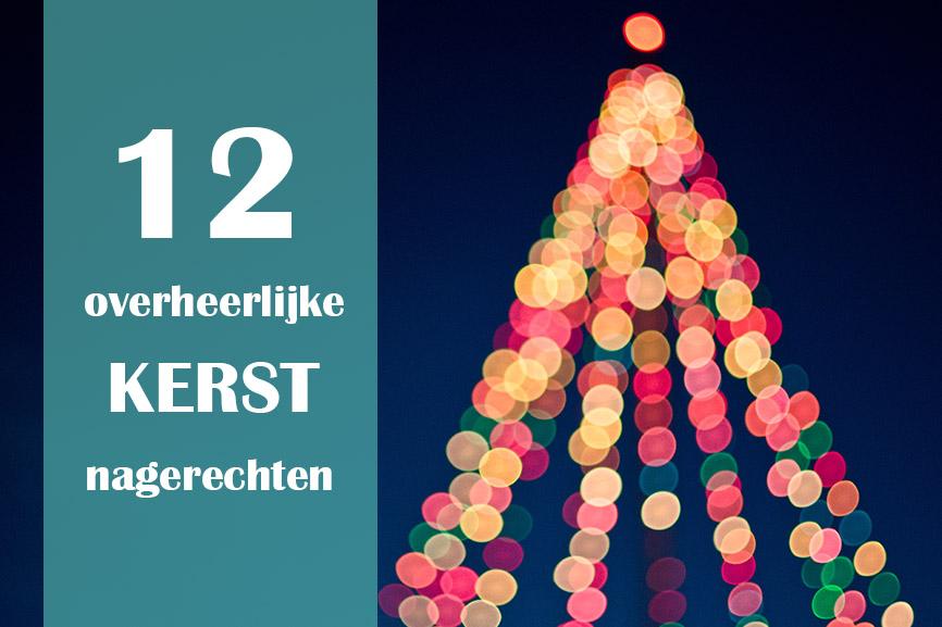 12 overheerlijke kerst nagerechten