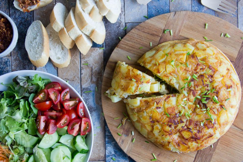 Spaanse tortilla uit de AutoCook