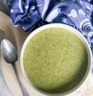 Romige broccolisoep met dille