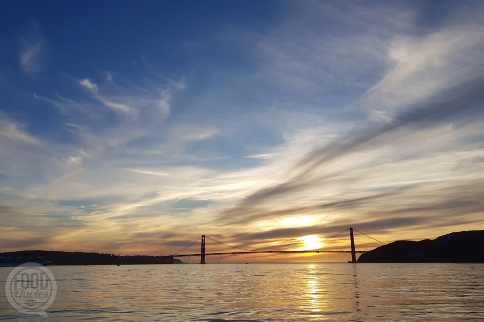 golden gate sundown