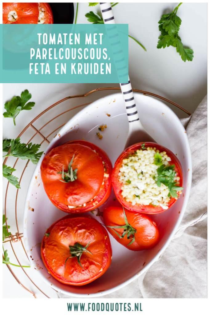 tomaten met parelcouscous