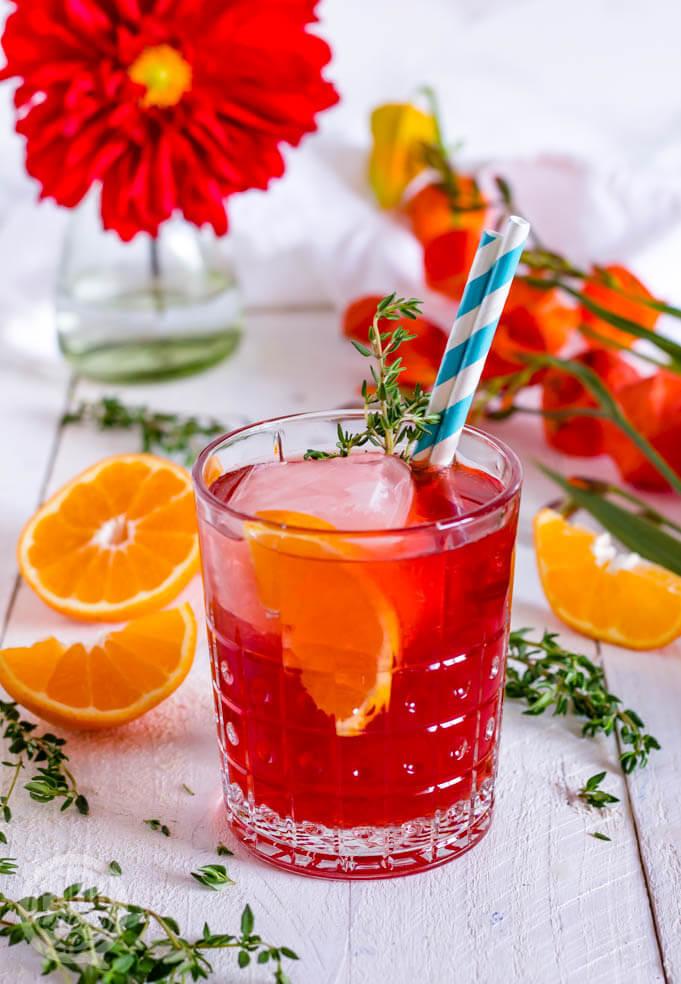 Italian Spritz Mocktail