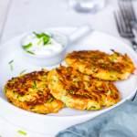 Courgette-wortel koekjes