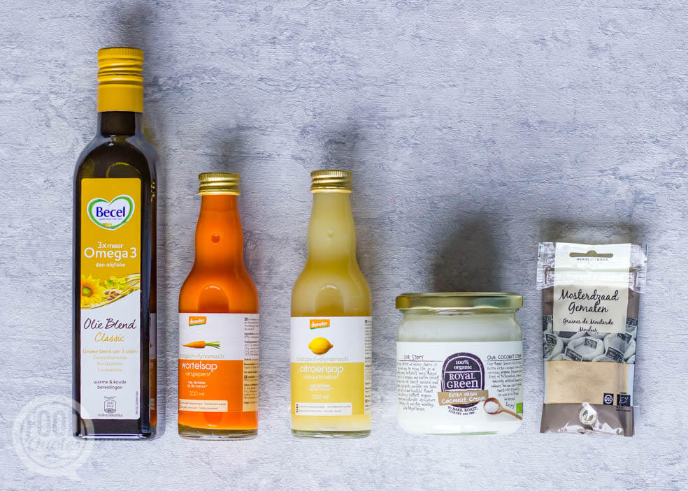 margarine ingrediënten