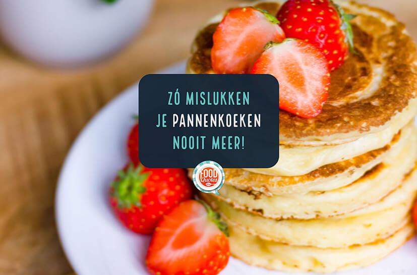 10 tips om de perfecte pannenkoek te bakken + recept