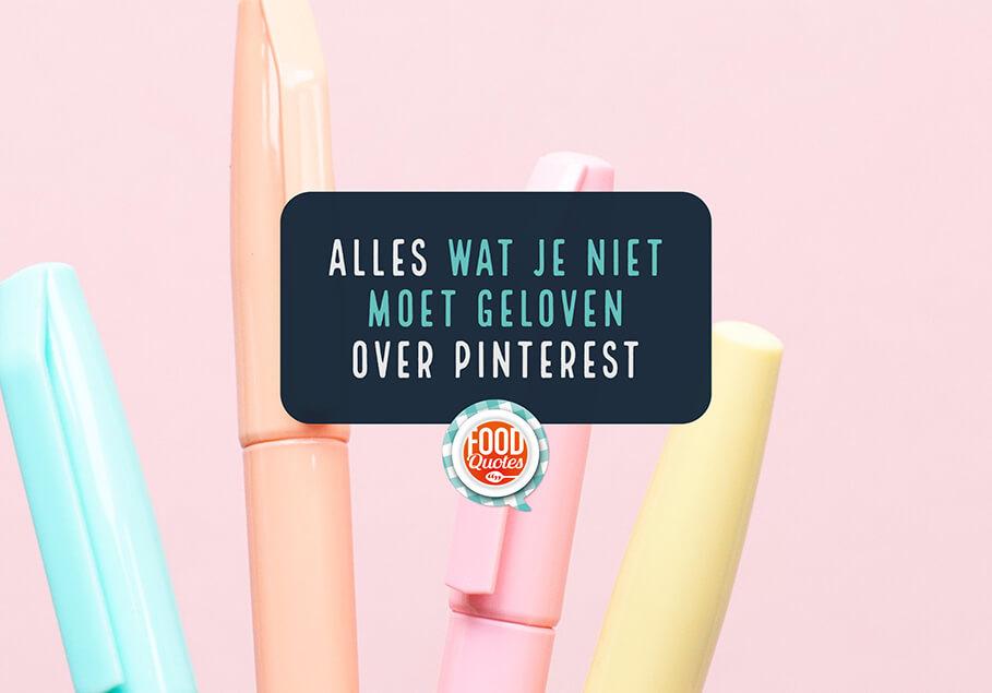 11 Pinterest fabels
