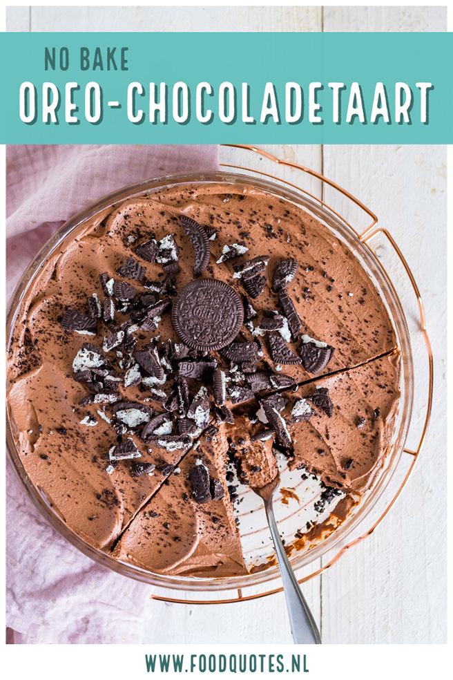 Oreo chocoladetaart