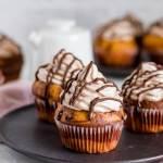 Gemarmerde cupcakes