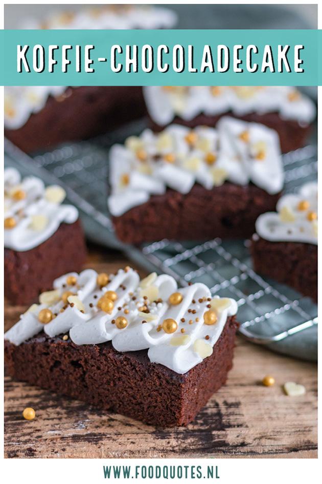 Koffie-chocoladecake