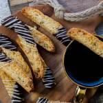 Cantuccini met pistache en chocolade